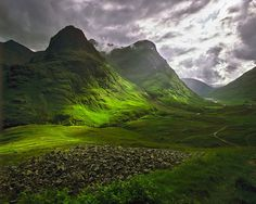Glen Coe, Scotland beautiful-places-vacation-ideas