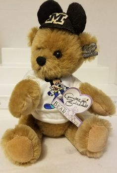 With Stand Symbol Of The Brand Mickey Mouse Club   Annette Funicello Collectible Bear Co