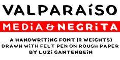 VALPARAíSO font download