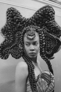 High Fashion Hair, Afro Punk Fashion, Naomi Campbell, Hair Express, Black Girl Aesthetic, Aesthetic Hair, Tribal Hair, Pelo Afro, Pelo Natural