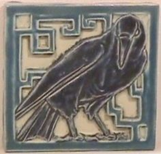 Rookwood Pottery tile