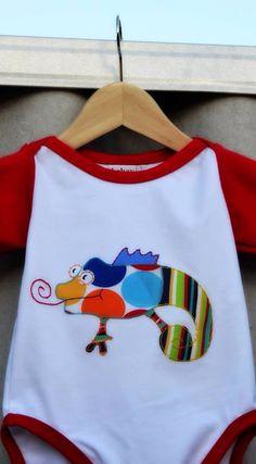 #Chameleon cool design for babies #babycool #baby