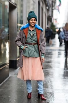 Take a look at some of our favorite looks taken by Sandra Semburg on the streets of New York this Fashion Week.