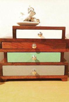 Eva Five Drawer Jewellery Box Oliver bonas Free uk and Drawers