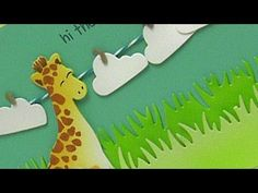 Lawn Fawn - How to color cute dies without stamping with Sandy Allnock _ Critters on the Savanna Lawn Cuts, Into the Woods Lawn Cuts, Grassy Border