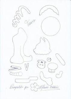 Tauro 2, Cuaderno Fofuchas, Planas Signos, Fofuchas Del, Moldes Todo, Fofucha Plana, Moldes Manualidades, 12 Signos, Signos Zodiacales