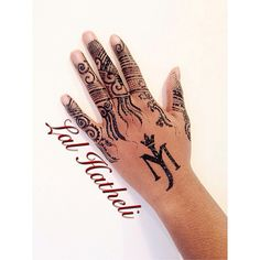 Jagua finger tattoo with Michael Jackson tattoo by Lal Hatheli