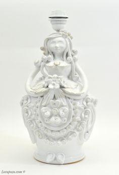"PUPA DI CERAMICA ""Giulia"" Italian Art, Pottery Art, Terracotta, Jar, Home Decor, Light Bulb Vase, Pottery, Decoration Home, Room Decor"