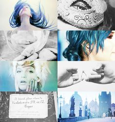 Karou from The Daughter of Smoke and Bone Trilogy by Laini Taylor