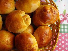 As receitas lá de casa: Pães de leite – receita Bimby