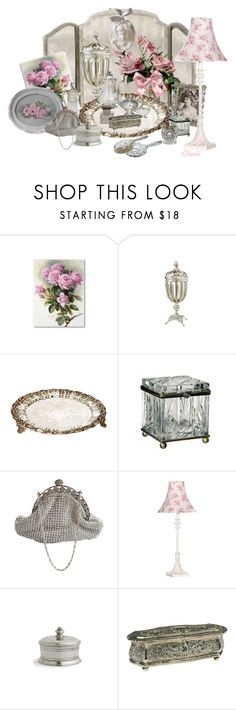 Siver and Pink!!! by elonda on Polyvore featuring interior, interiors, interior design, home, home decor, interior decorating, Arte Italica, CO, Bojay and mark.