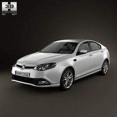 MG6 GT 2012 3d model from humster3d.com. Price: $75