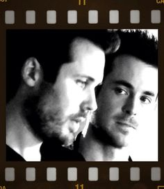 James Anderson (Oliver Valentine) and Jules Knight (Harry Tressler) via @MrJulesKnight on Twitter