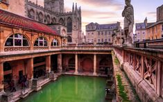 Visitors don't just come to Bath, England for the therapeutic mineral springs anymore. Read on.