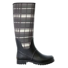 Lauren Ralph Lauren Womens Bethania Rain Shoe BlackGrey 8 B US >>> For more information, visit image link.