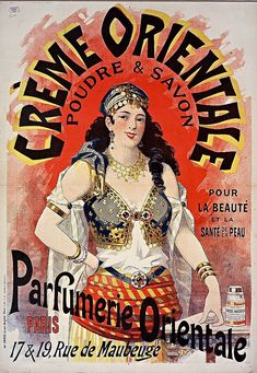 Spanish Gypsy, Gypsy Girls, Belly Dancers, Vintage Advertisements, Vintage Prints, Creme, Advertising, Lucien, Diva