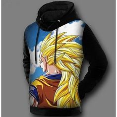f3bd29f0f4f3 Winter Fleece Lined Boys 3D Print Sweatshirt Pullover Coat Jacket Dragon  Ball Z Hoodie Anime Japanese Style Son Goku Vegeta