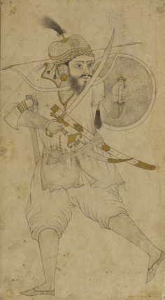 A Tatar soldier, 16th century