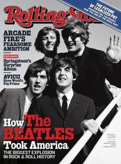 The Beatles on the January 16, 2014 cover.