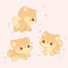 Cute Kawaii Animals, Cute Animal Drawings Kawaii, Cute Baby Animals, Cute Small Drawings, Cute Reptiles, Cartoon Drawings Of Animals, Cute Disney Wallpaper, Cute Doodles, Cute Chibi