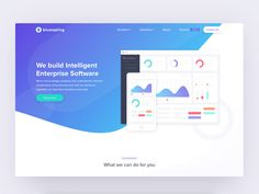 Landing Page Interaction Design by Harsh Vijay