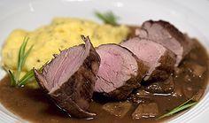 Wertvoll wie Gold: Filetto di maiale all moda del cinghiale con porcini nach Marcella Hazan | Rezept | Rezepte mit Bildern für die anspruchsvolle Hobbyküche