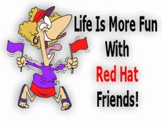 Life is more fun with red hat friends!