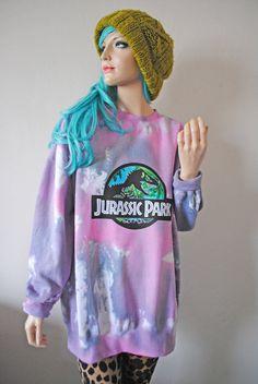 Jurassic Park Sweater. So sick!