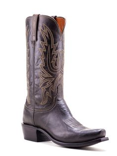Mens Lucchese Chocolate Mad Dog Goat Boots N7377 - Texas Boot Company is located in Bastrop, Texas. www.texasbootcompany.com