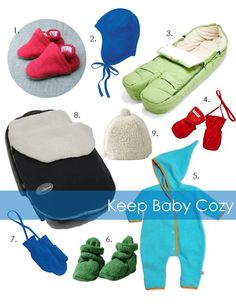 The Scribble Pad: Winter Baby Essentials