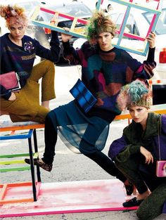 Balenciaga '80 collection 2012