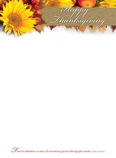 The 101 best thanksgiving stationery images on pinterest contact thanksgiving stationery thanksgiving letterhead happy thanksgiving spiritdancerdesigns Gallery