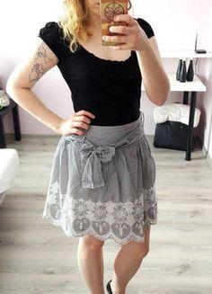 Kup mój przedmiot na #vintedpl http://www.vinted.pl/damska-odziez/spodnice/16804266-elegancka-spodniczka-orsay-czarno-biala