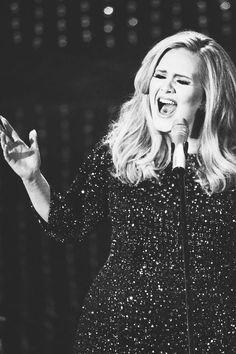 Adele singing golden globe, brit, and Oscar winning song - Skyfall