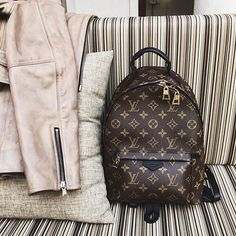 Backpacker // @louisvuitton. #FabulousInDubai