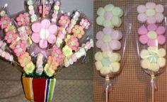 Flores de bombon, enviadas por Irma