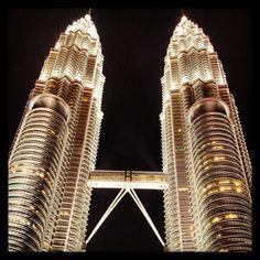 Petronas night time