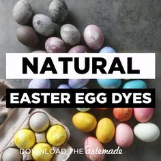 Color your eggs the safe and easy way with onion skins, red cabbage, blueberries, beets and turmeric.
