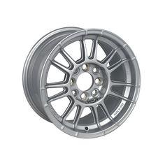 X3MAZero 13 Silver is a contemporary-style racing wheel that recalls the glorious rims of the past, being perfect for historic cars also. #WHEEL #EVOCORSE #CIRCUIT #MADEINITALY #RALLY #SILVER #X3MAZERO #X3MAZERO13