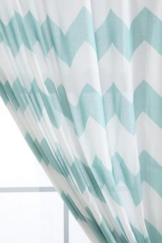 Zig Zag Curtain at Urban Outfitters. Does this count as chevron? My New Room, My Room, Spare Room, Chevron Curtains, Printed Curtains, Office Curtains, Cottage Curtains, Bedroom Curtains, Houses