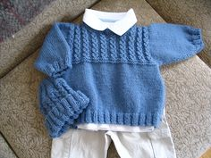 Ravelry: jessiewf's Mock Cable for Baby Sweater Pullover