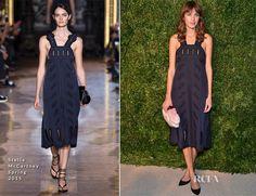 Alexa Chung In Stella McCartney – 2014 CFDA/Vogue Fashion Fund Awards.  (November 2014)