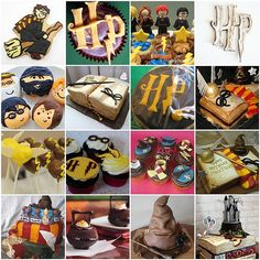 Lots of Harry Potter cupcakes and other desserts too! Harri Potter, Montag, Cupcak, Potter Mad, Nifti Dessert, Potter Parti, Dessert Ideas, Harry Potter, Parti Idea
