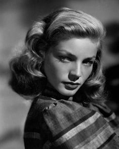 Lauren Bacall, beautiful actress known for her sultry roles, born Betty Joan Perske, the daughter of Jewish immigrants.  She is first cousin to Shimon Peres, current President and former Prime Minister of Israel