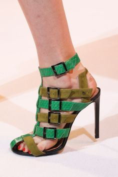 Green Statement Shoes