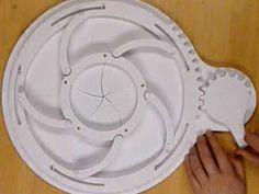 Stargate Event Horizon Iris Automata Papercraft - by BillyBob884   ===           By North American designer Mike McDermott, aka BillyBob884, here is the Stargate Event Horizon Iris model, a kind of automata papercraft.
