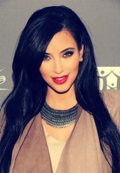 This is probably the most beautiful picture of Kim K I've ever seen