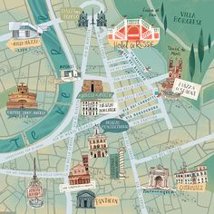 ROME'S MAP on Behance                                                       …