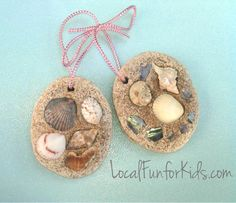 Save your vacation memories with this gorgeous #seashell #summer #craft!