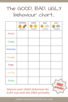 HW, UH OH! LOL Needing to find something to get my boy to behave, I created this behaviour chart. Helping to combat those powers struggles, those disobedient moments and the answering back, it's guaranteed to help you improve your child's behaviour too! Good Behavior Chart, Behavior Chart Printable, Home Behavior Charts, Reward Chart Kids, Kids Rewards, Chore Chart Kids, Behaviour Chart, Behavior Sticker Chart, Behavior Chart Toddler